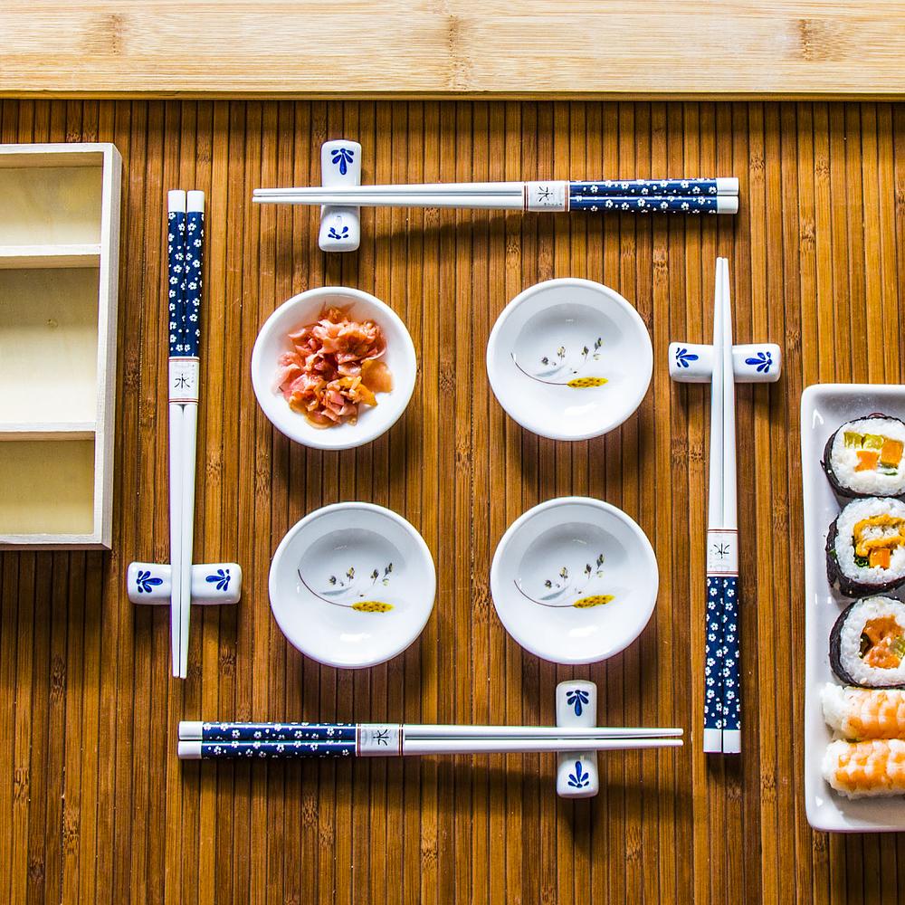 Zestaw do sushi ceramiczny Fish
