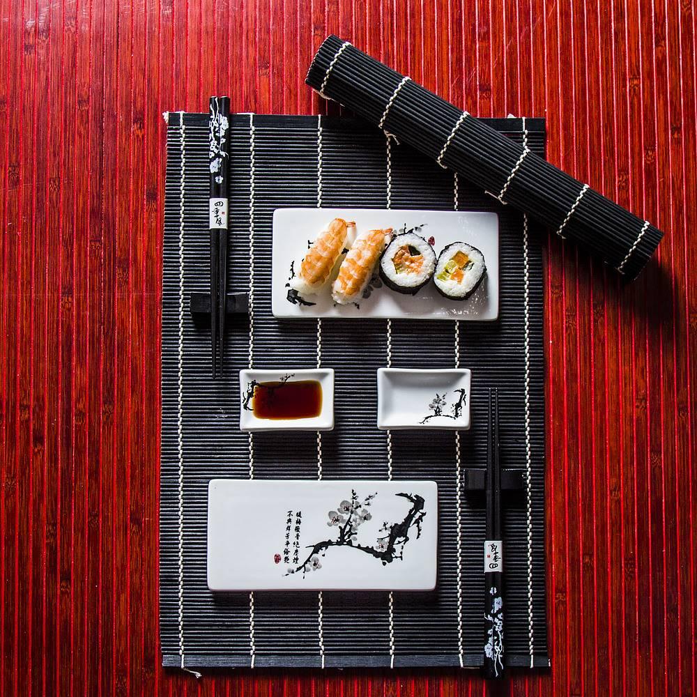 Zestaw do sushi ceramiczny Kala