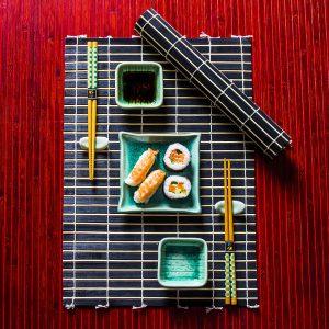 Zestaw ceramiczny do sushi Orient