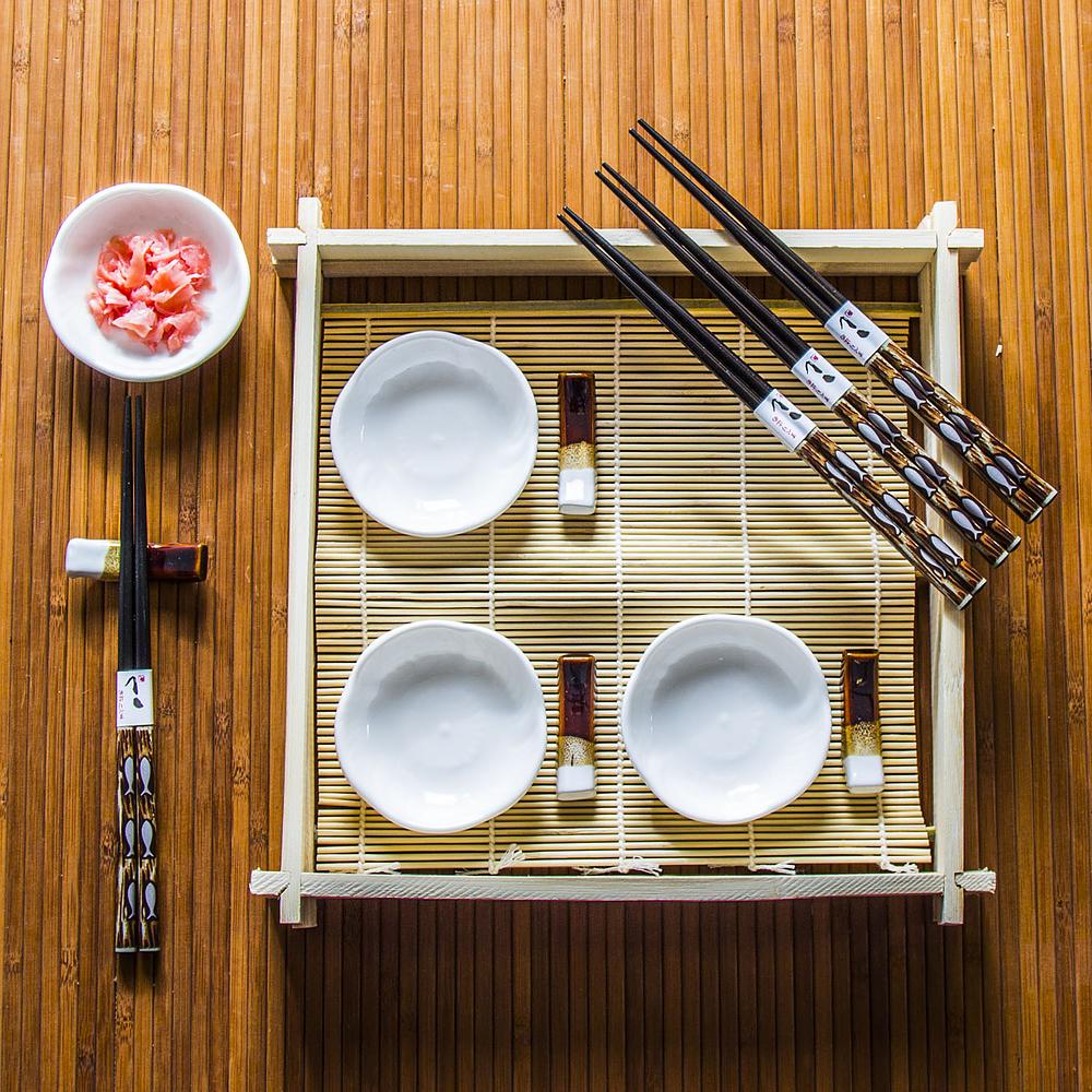 Zestaw do sushi ceramiczny Sushimaster