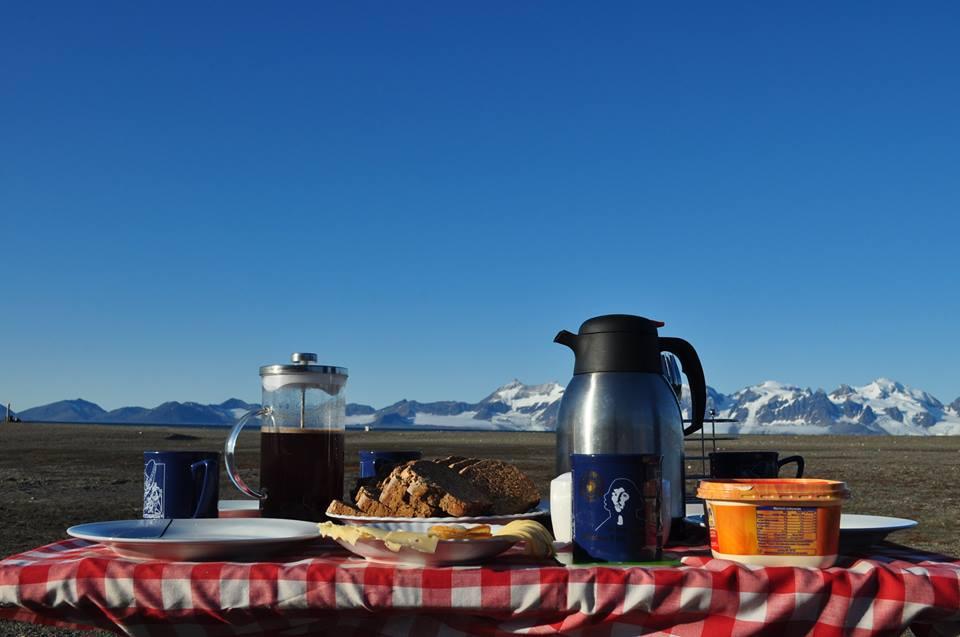 Akcesoria kuchenne na Spitsbergen