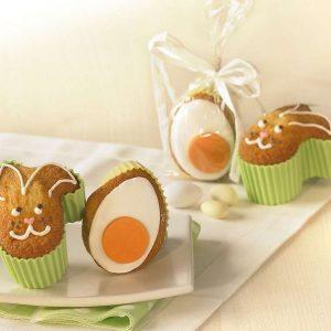 Foremki silikonowe do muffinek Birkmann Wielkanoc