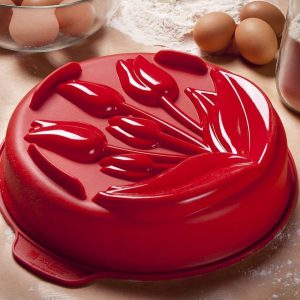 Forma do babki silikonowa Silikomart Tulipany