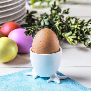 Kieliszek na jajko porcelanowy Łapki