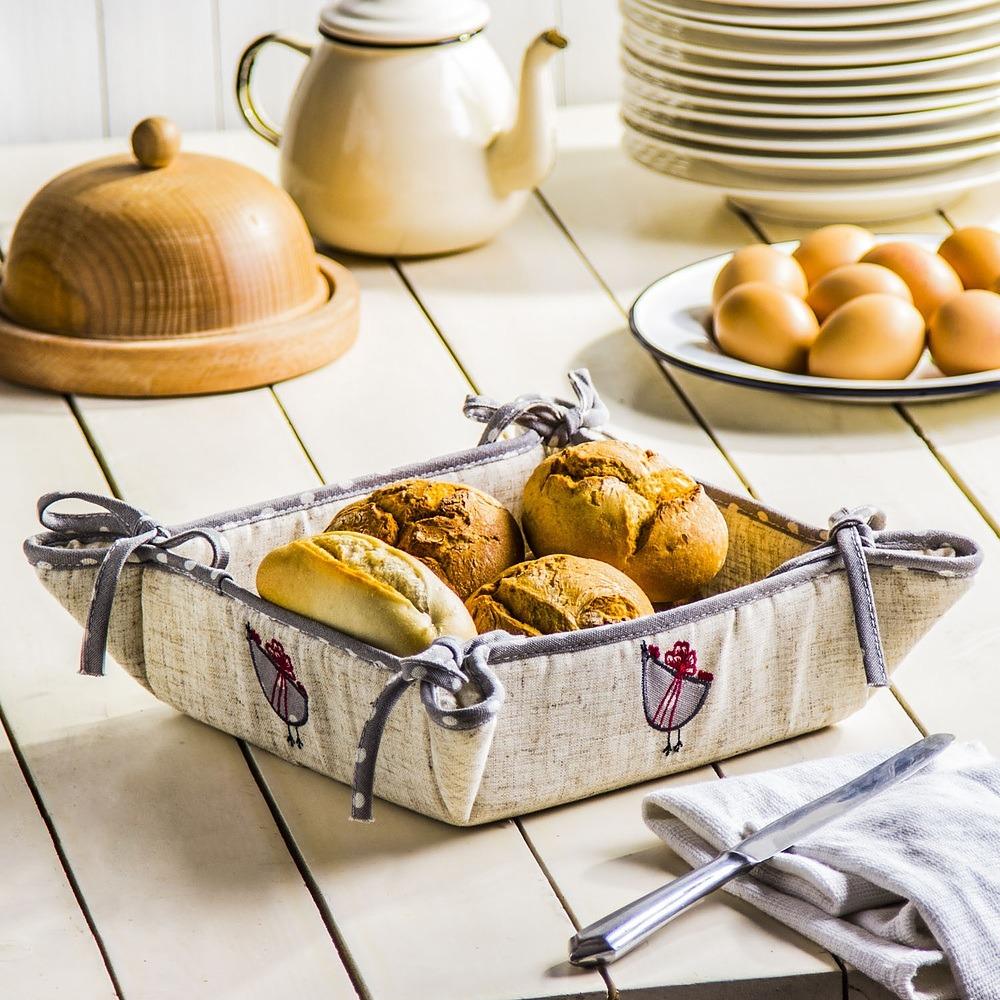 Koszyk na chleb Kury