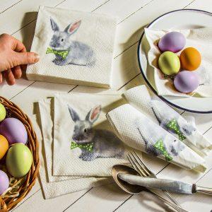 Serwetki papierowe dekoracyjne Paw Ben Bunny