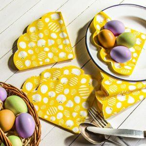 Serwetki papierowe dekoracyjne Paw Egg