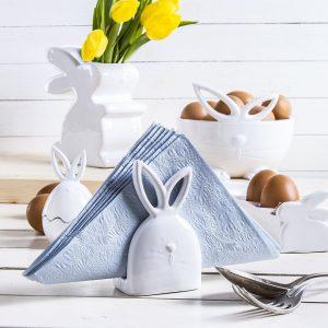 Serwetnik ceramiczny Easter Bunny
