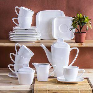 Serwis kawowy porcelanowy Ambition