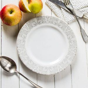 Talerz deserowy ceramiczny Florina Bona