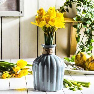 Wazon na kwiaty ceramiczny Luca