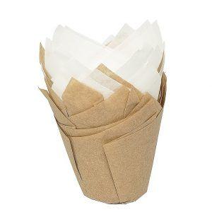 Foremki do muffinek papierowe Birkmann Tulip