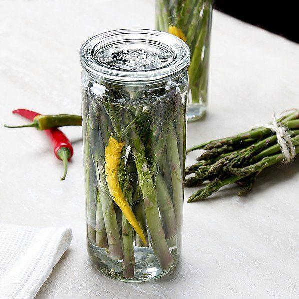 Słoik na szparagi szklany Weck