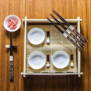 Zestaw do sushi ceramiczny Pescado