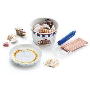 Naczynia dla dzieci porcelanowe Kahla Capitan Sharky