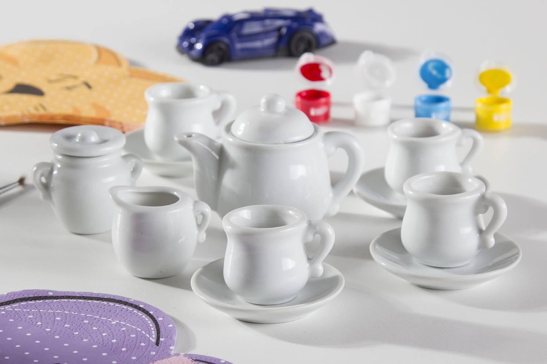 Zestaw kreatywny do malowania - seriws do herbaty