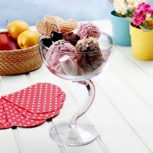 Pucharek do lodów szklany Edwanex Zosia