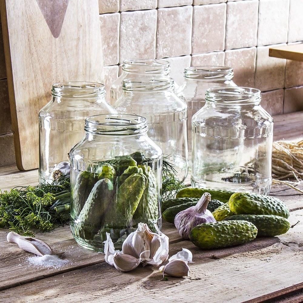 Słoiki na przetwory szklane Smaki Babuni