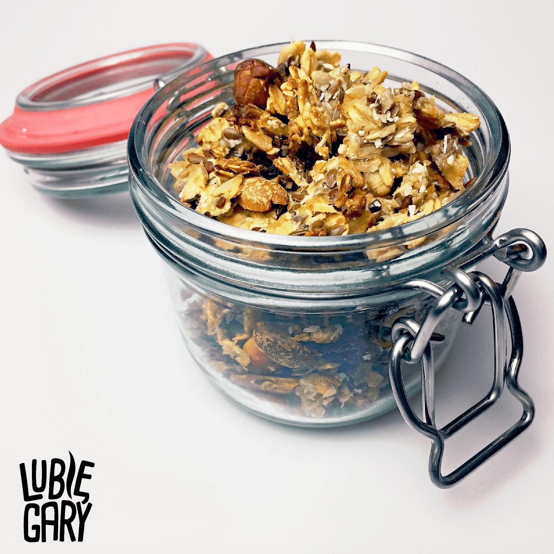 Domowa granola z miodem - przepis