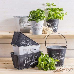 Osłonki na zioła metalowe Herbs