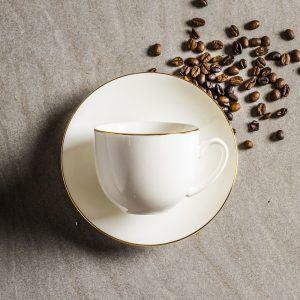 Filiżanka do kawy i herbaty porcelanowa Bella