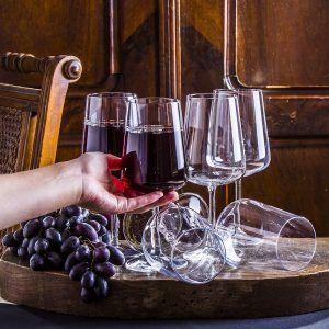 Kieliszki do czerwonego wina Bormioli Rocco