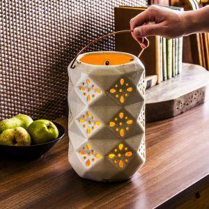 Lampion ozdobny ceramiczny Duo Star