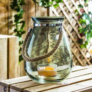Lampion ozdobny szklany Duo Barents