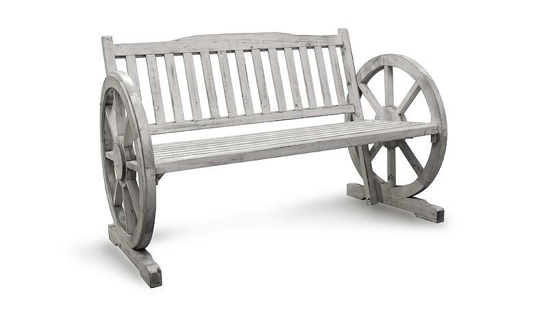 Drewniana ławka ogrodowa Mondex