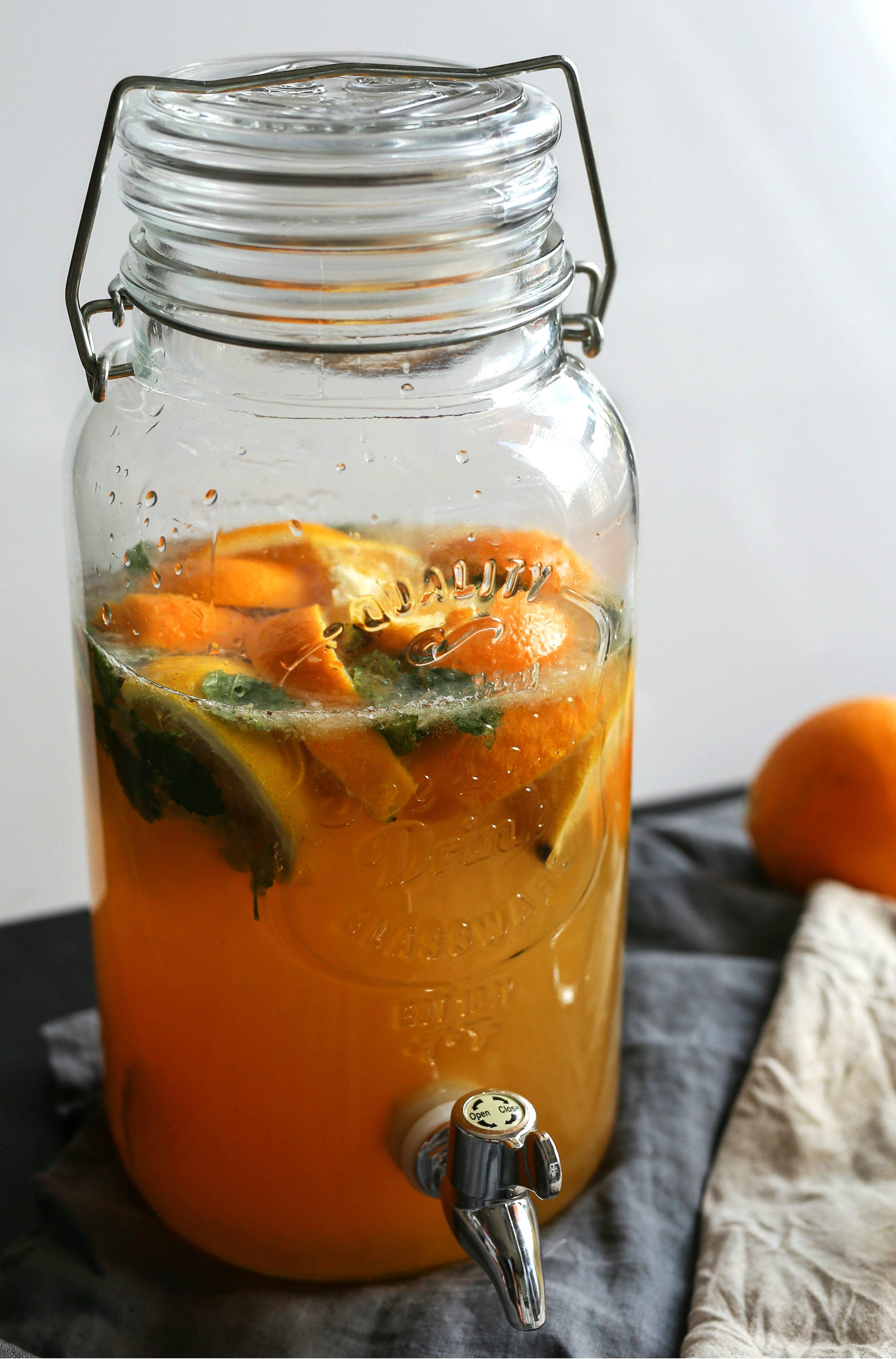Lemoniada cytrynowo-pomarańczowa przepis