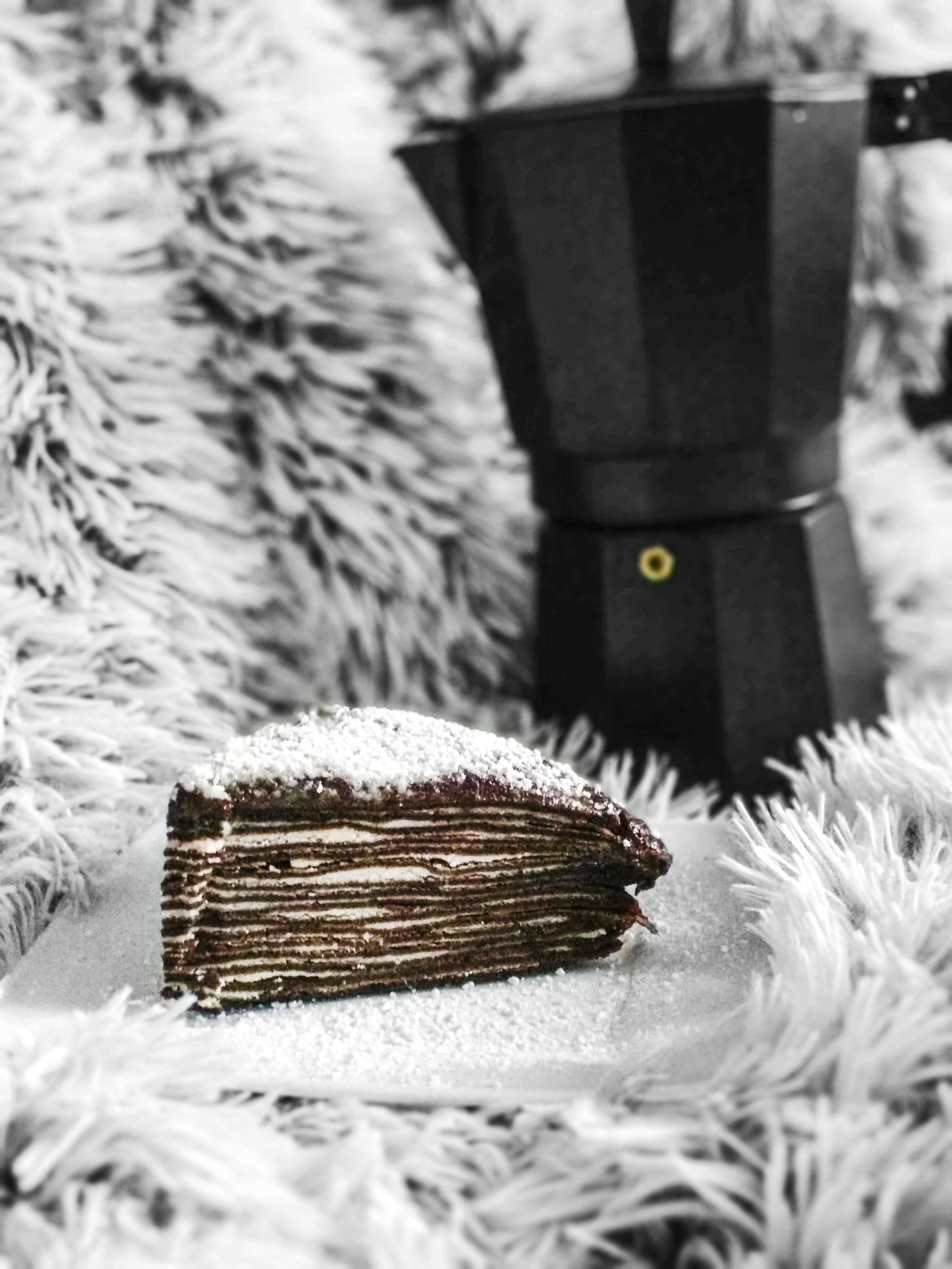 Torcik naleśnikowy czekoladowy - przepis