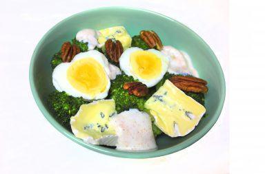 sałątka z brokułów