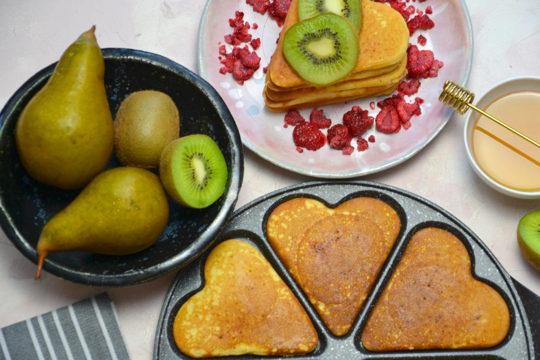 Placki z mąki jaglanej na śniadanie - przepis
