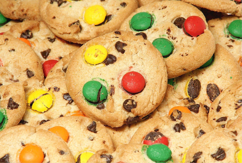 Kolorowe ciasteczka dla dzieci do przedszkola - przepis