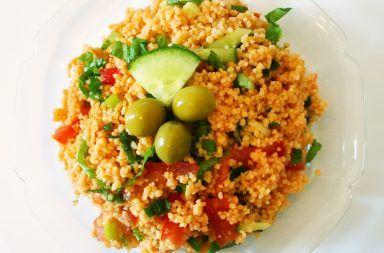 Sałatka turecka KISIR czyli kuskus z warzywami – przepis 384x253 - Sałatka turecka KISIR, czyli kuskus z warzywami – przepis