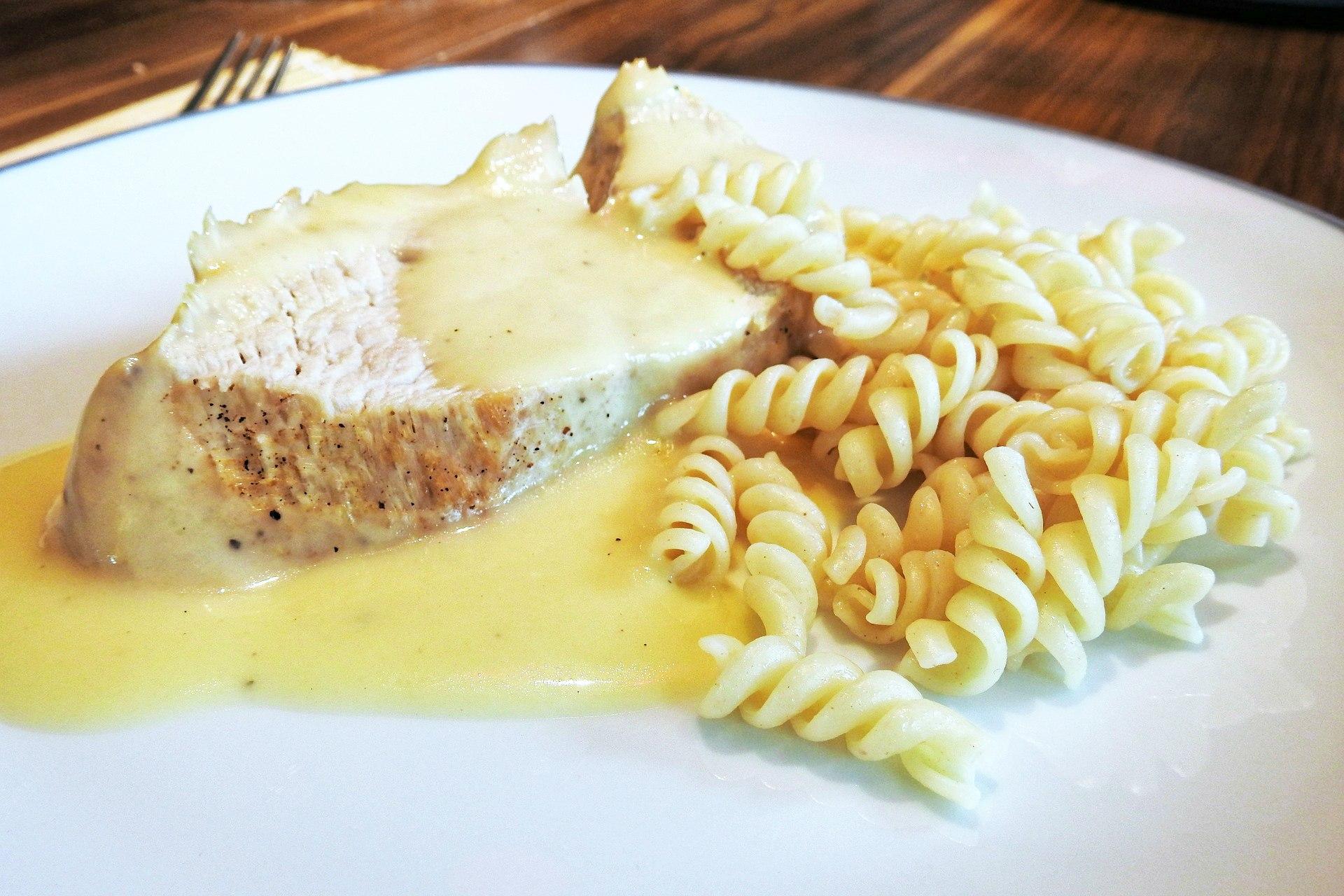 Biały sos do ryżu i makaronu - przepis