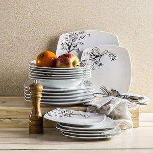 Komplet talerzy ceramicznych Ceramika Tułowice