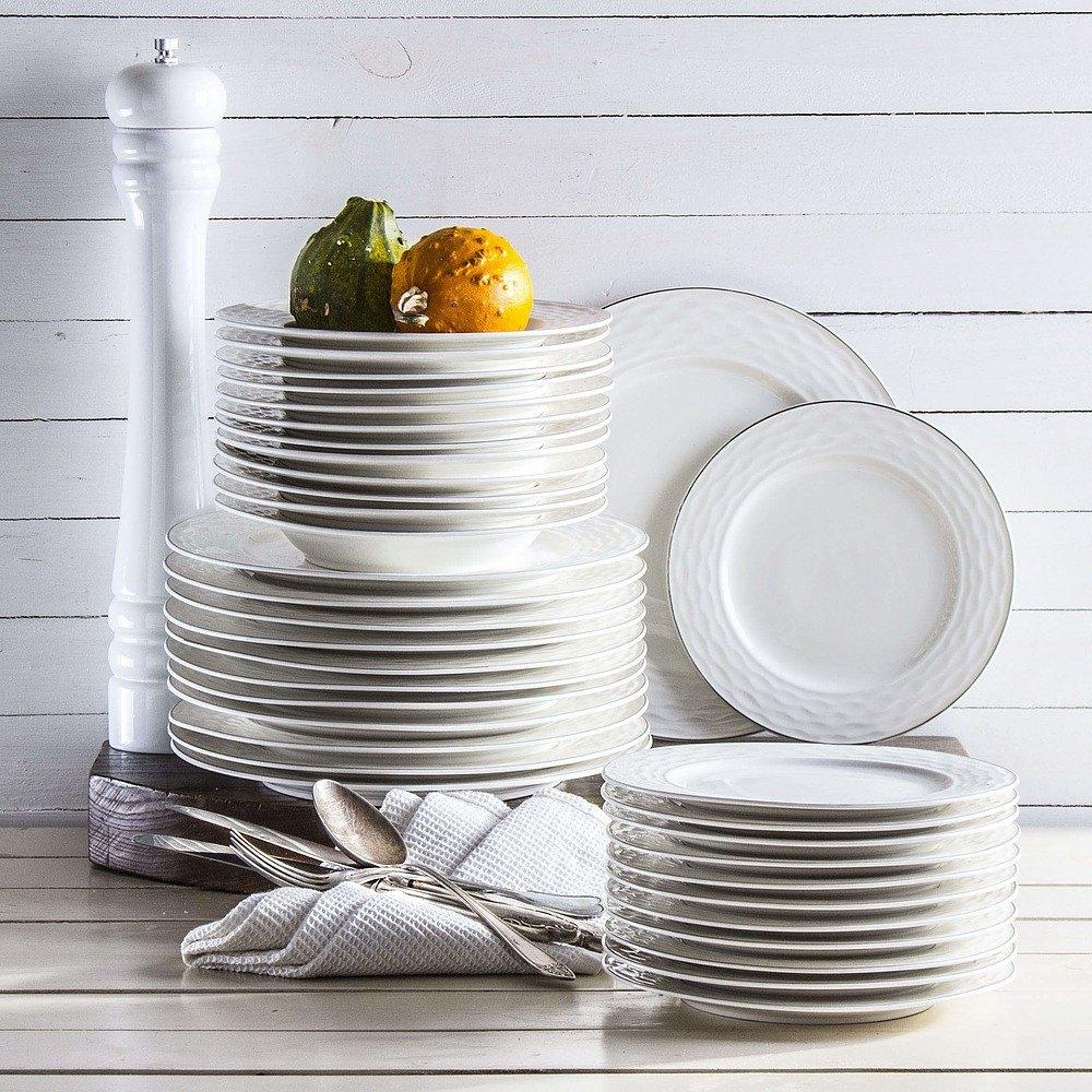 Zestaw talerzy obiadowych Duo Line