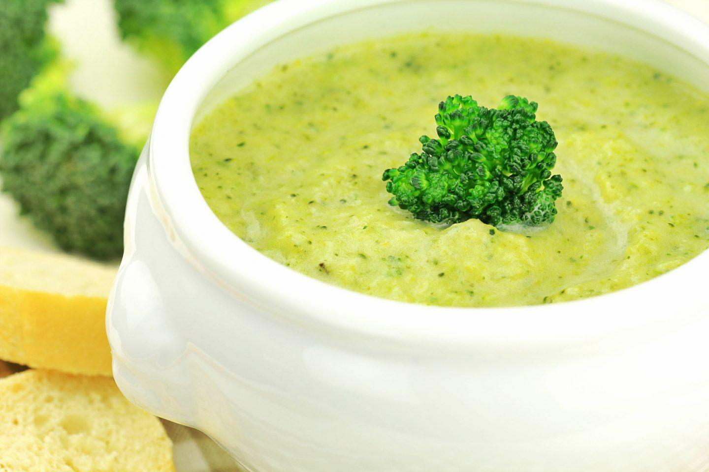 Prosta zupa krem z brokułów - przepis