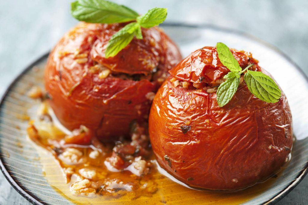 Pomidory faszerowane serem feta - przepis