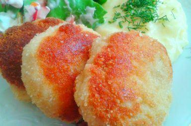 Przepisy na kotlety ziemniaczane z serem i szynką