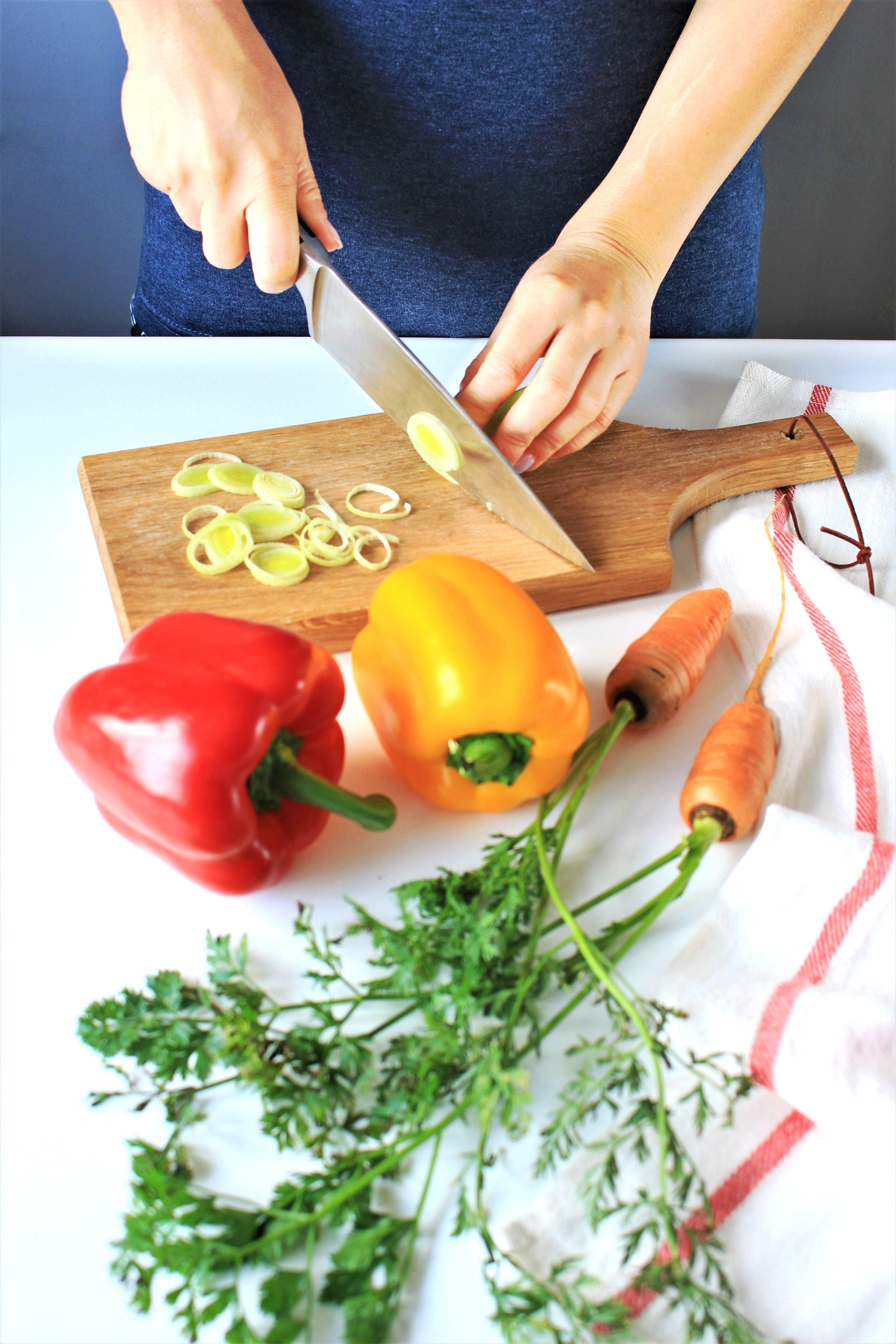 Przepis na ryż z warzywami wege