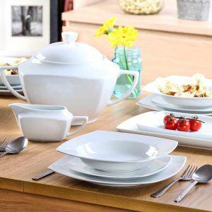 Komplet obiadowy 12 osobowy Ceramika Tułowice