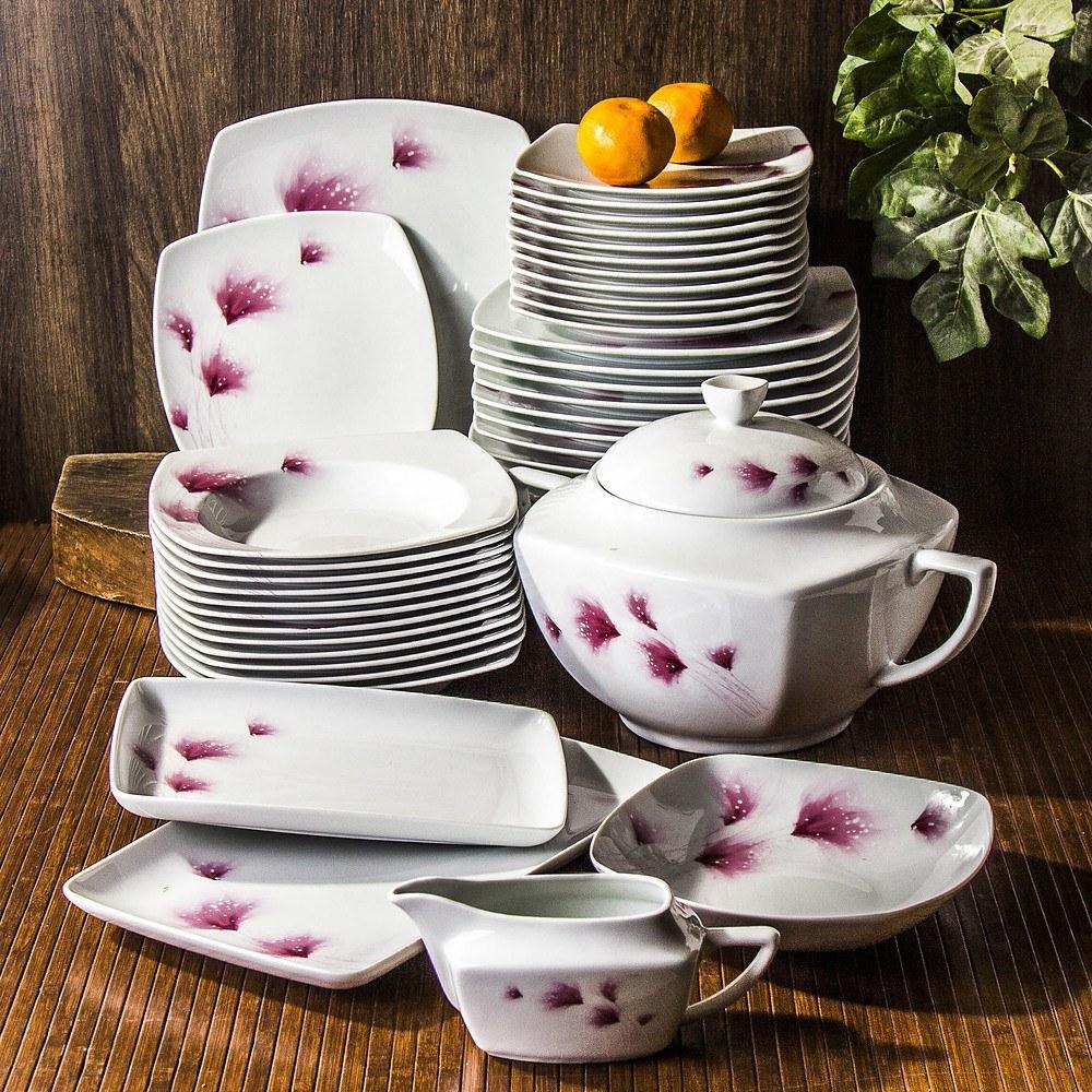 Serwis obiadowy Ceramika Tułowice Rosato