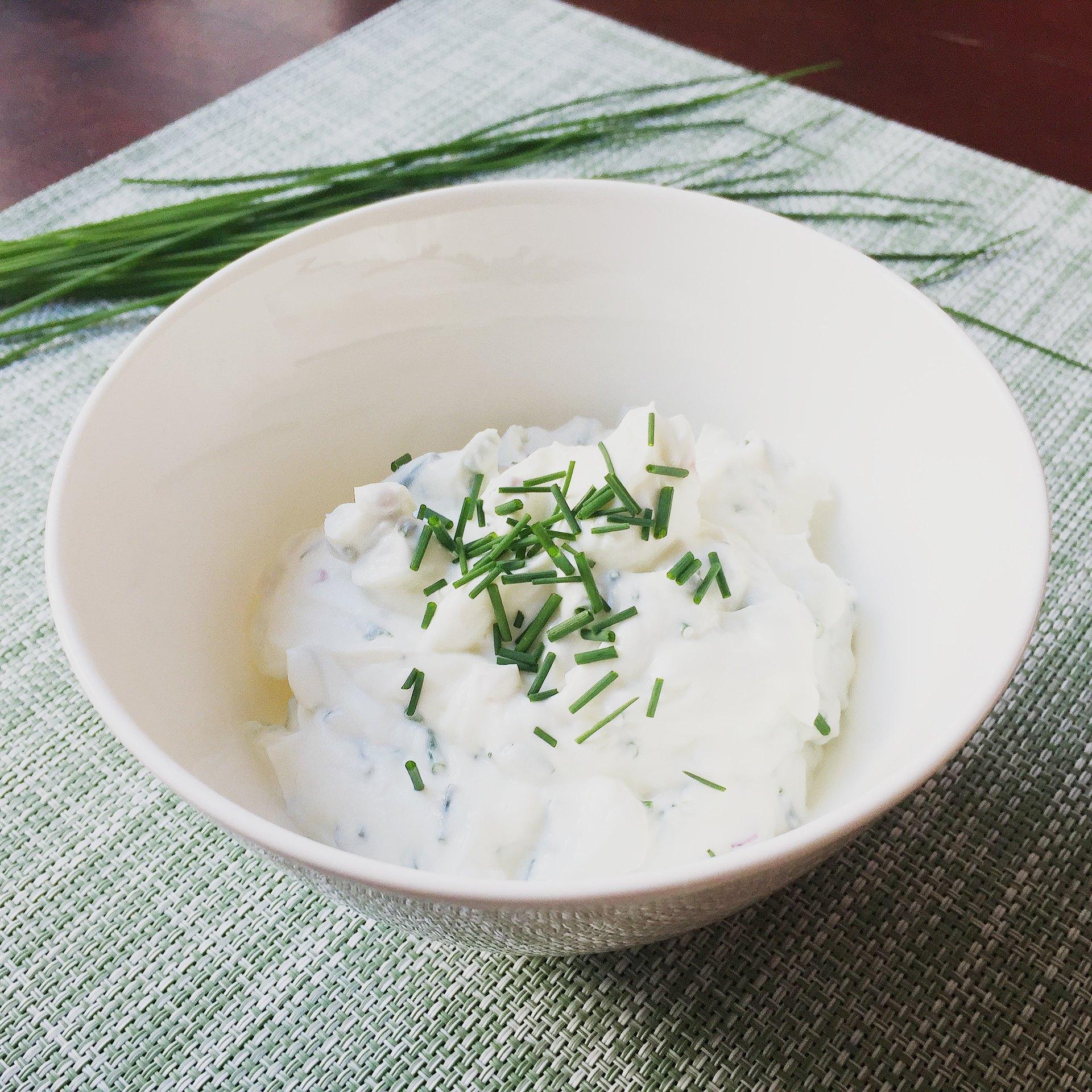 sos jogurtowy do warzyw