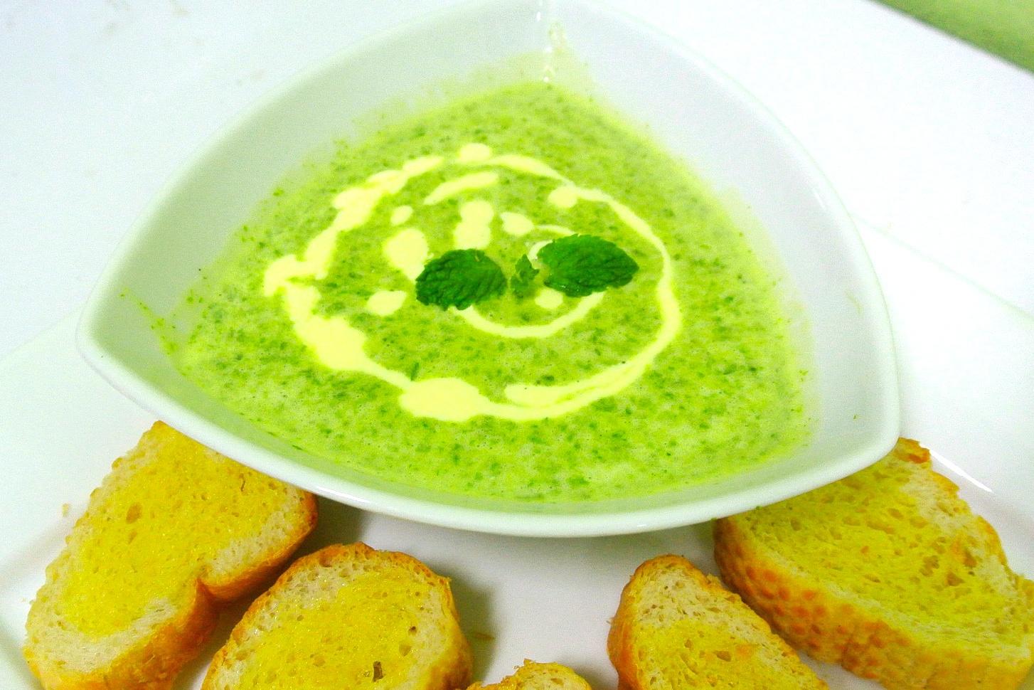 Zupa krem brokułowa - przepis