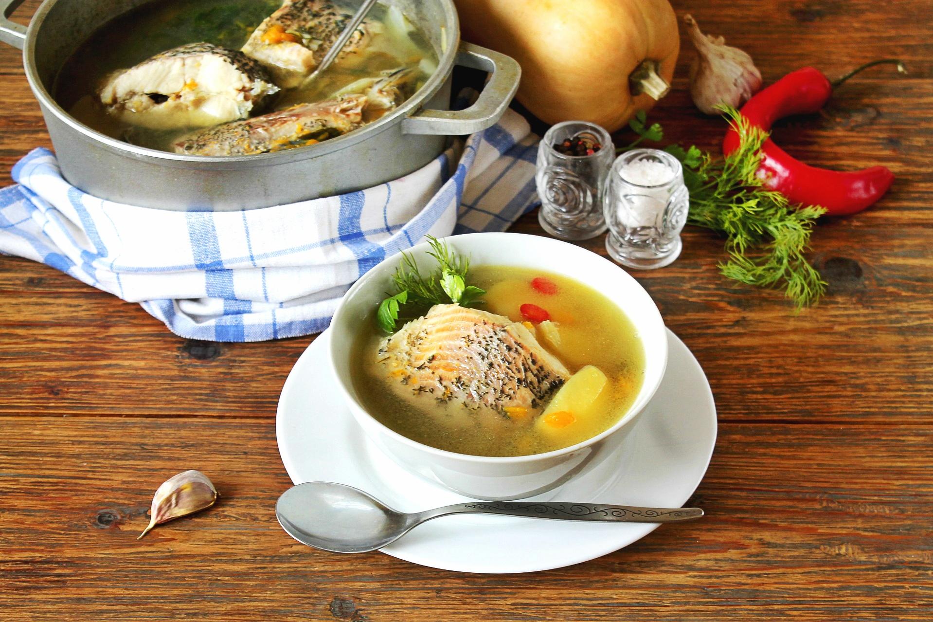 Zupa rybna z karpia na Wigilię - przepis