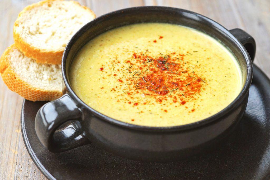 Zupa krem serowa z serków topionych - przepis