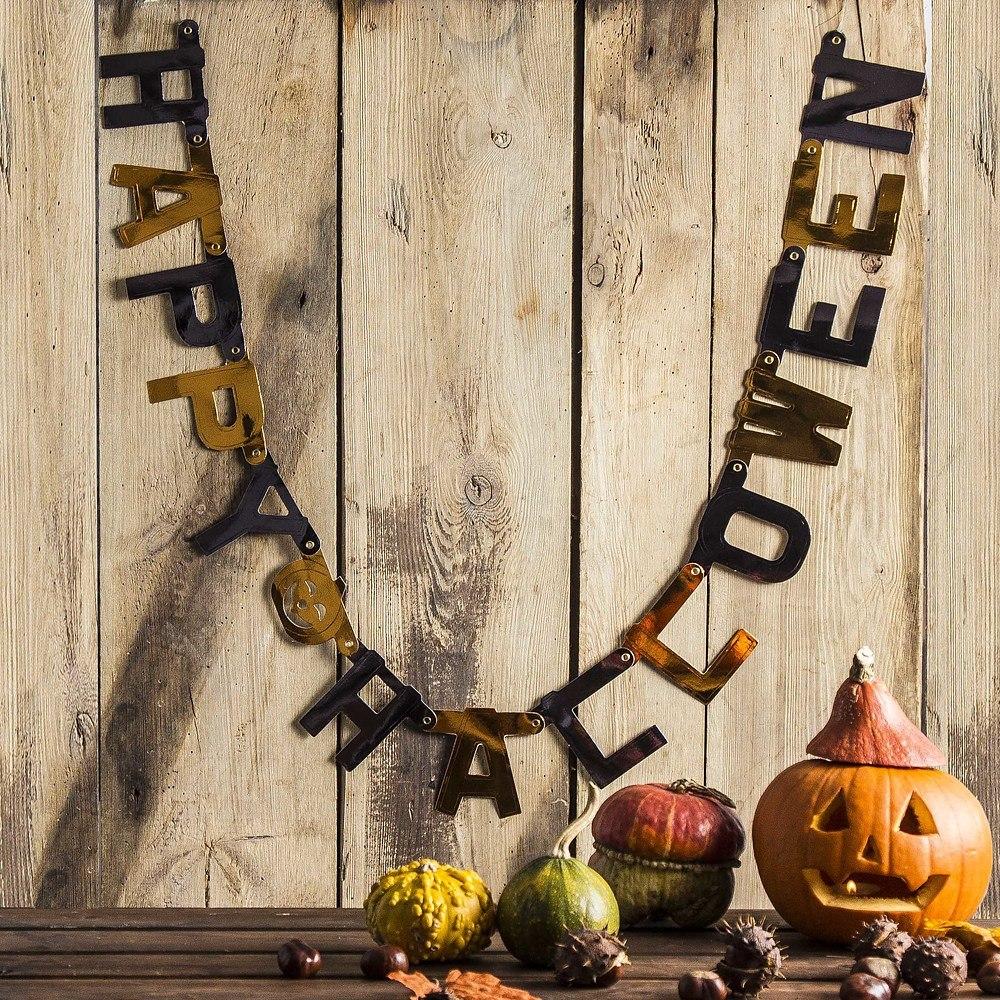 Girlanda napis halloweenowy