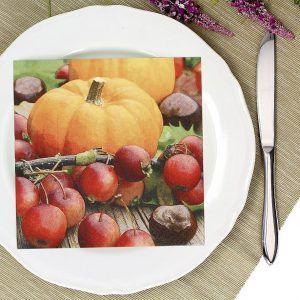 Serwetki papierowe Paw Autumn Pumpkin